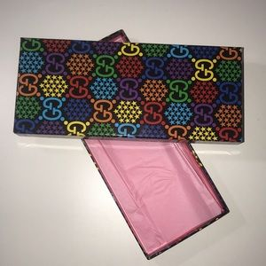 Authentic Gucci trinket box psychedelic case